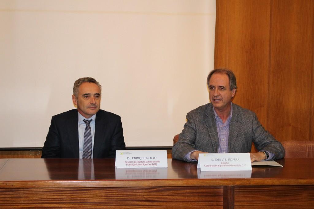 Enrique Moltó y José Vicente Segarra